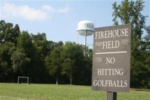 Beth Schmidt Park and Comer Field, better known as Firehouse Field. Photos by David Wells.